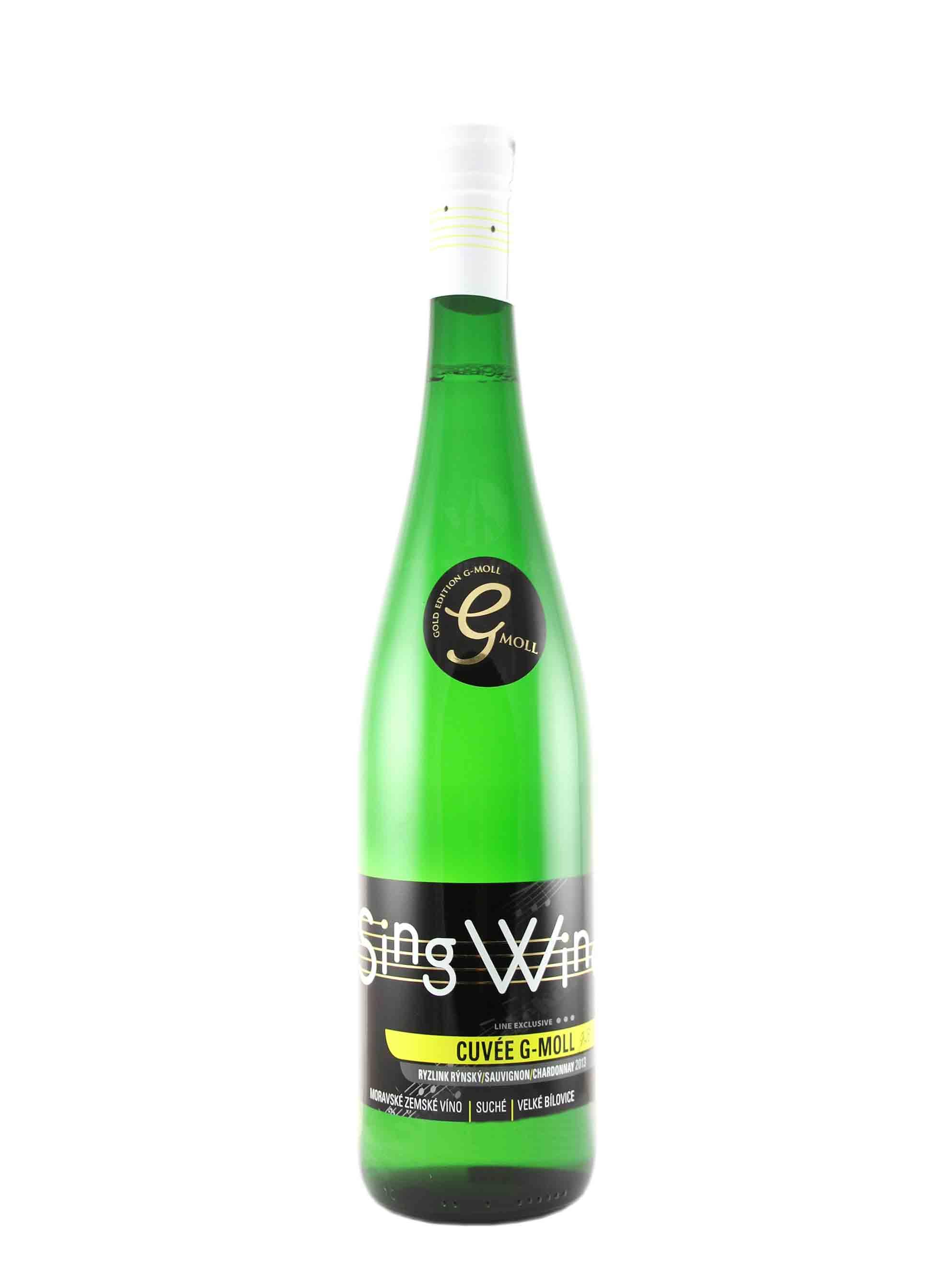 Cuvée, G - Moll, Zemské, 2013, Sing Wine, 0.75 l