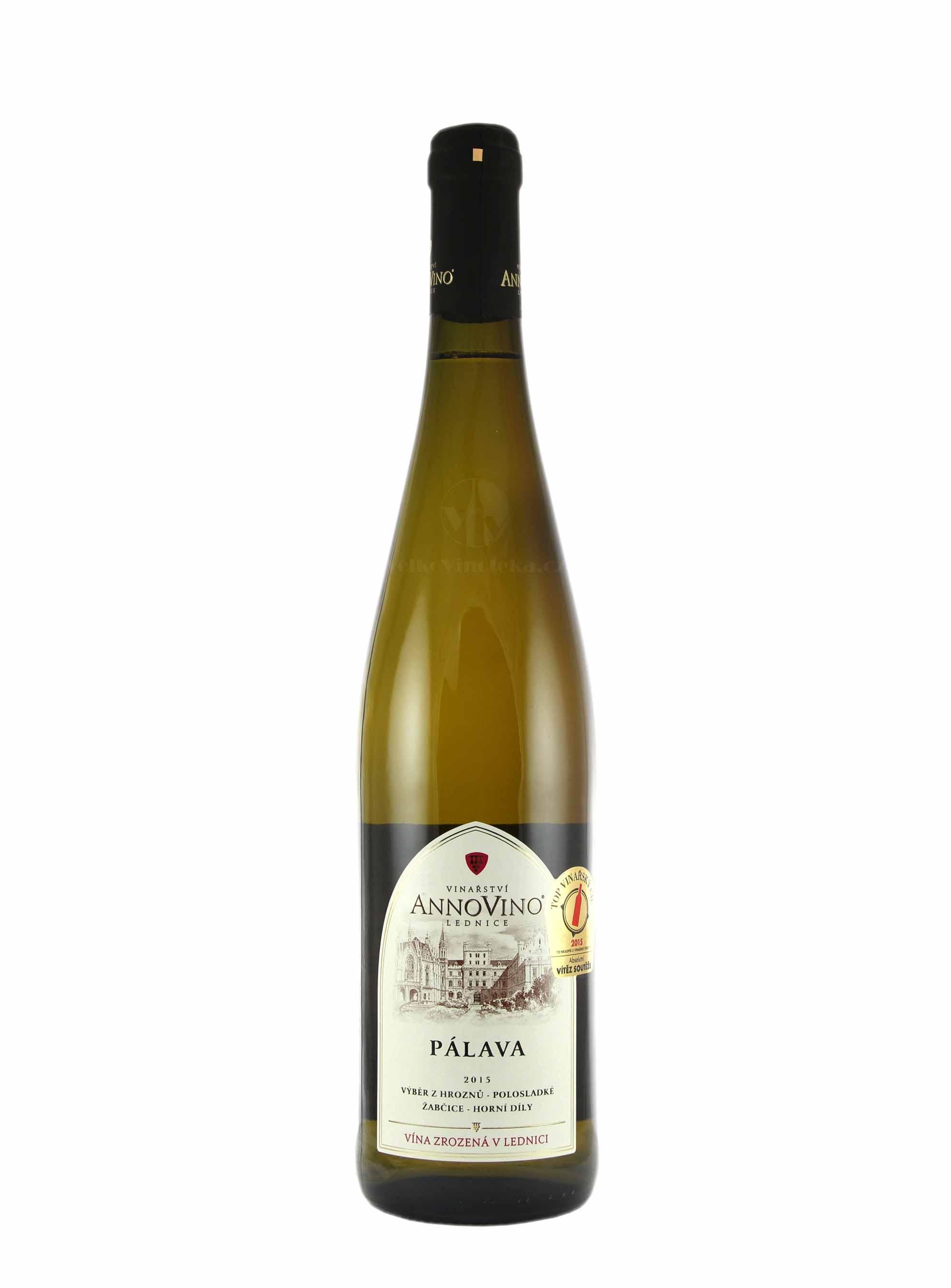 Pálava, Výběr z hroznů, 2016, Château Lednice, 0.75 l