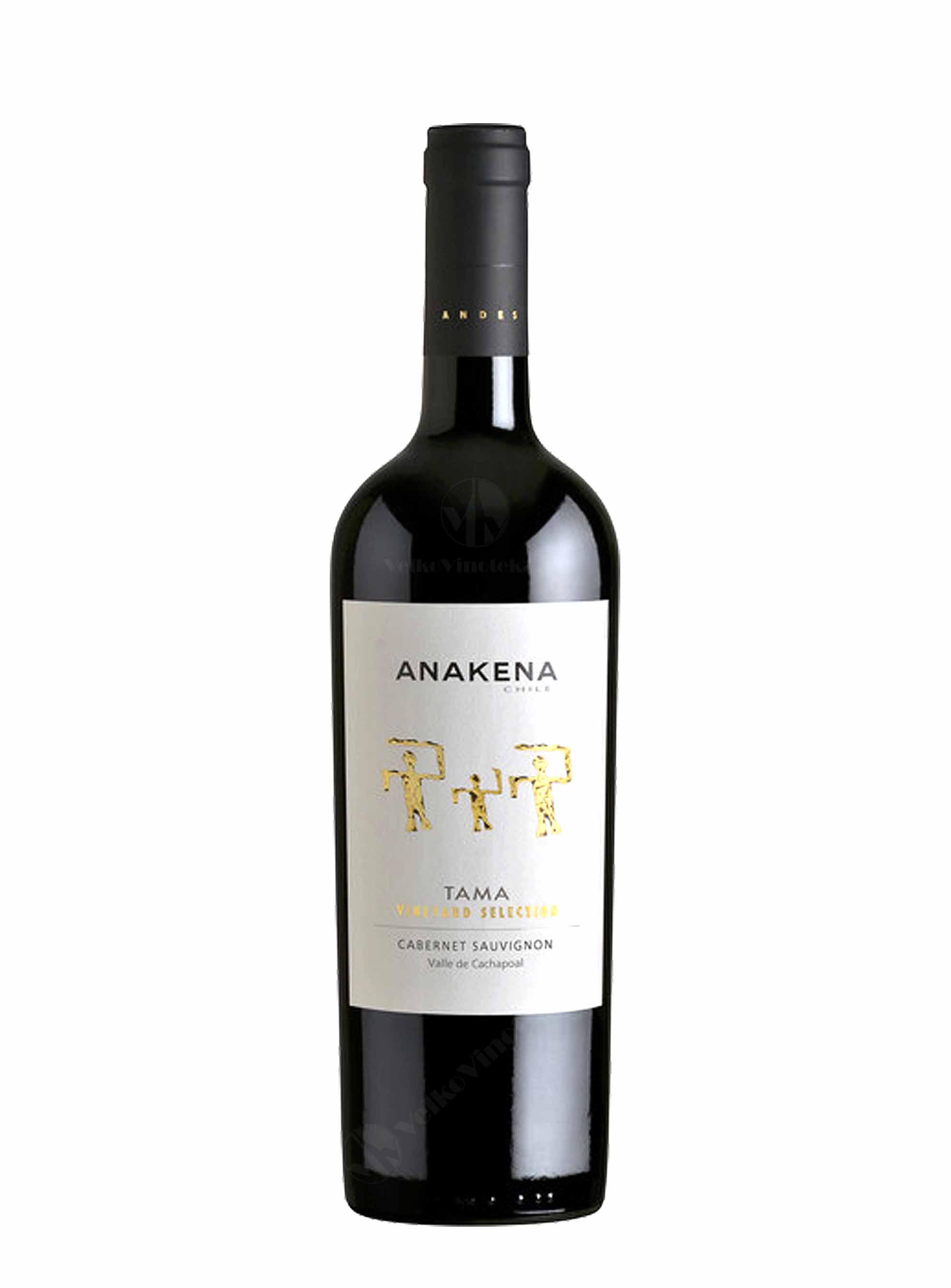 Cabernet Sauvignon, Tama, 2015, Anakena Winery, 0.75 l