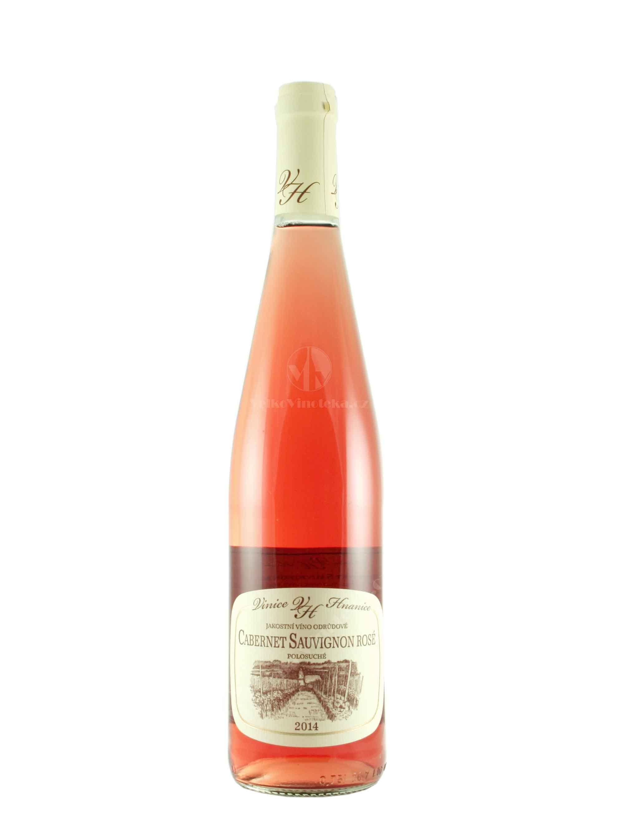 Cabernet Sauvignon, Jakostní odrůdové, 2014, Vinice Hnanice, 0.75 l
