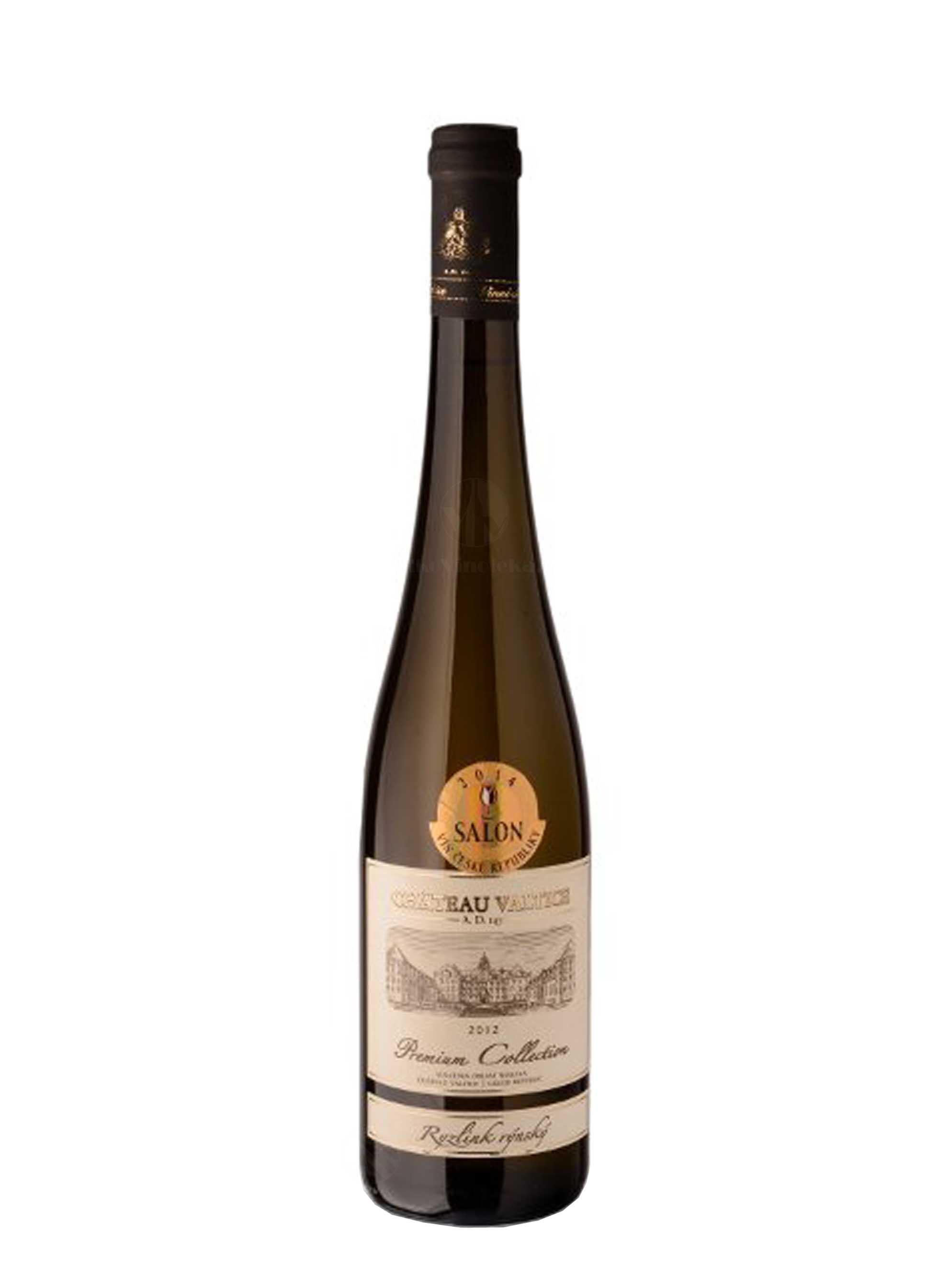 Ryzlink rýnský, Premium Collection, Výběr z hroznů, 2012, Château Valtice, 0.75 l