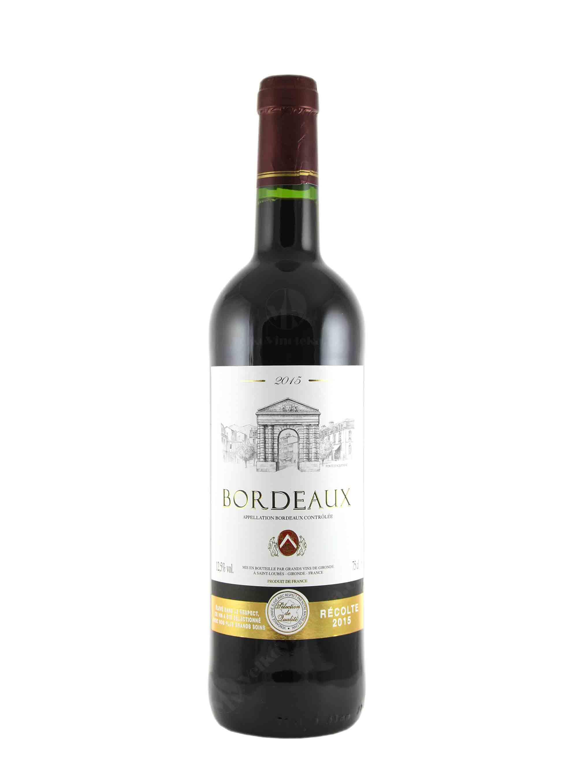 Cuvée, AOC, 2015, Grands Vins de Gironde, 0.75 l