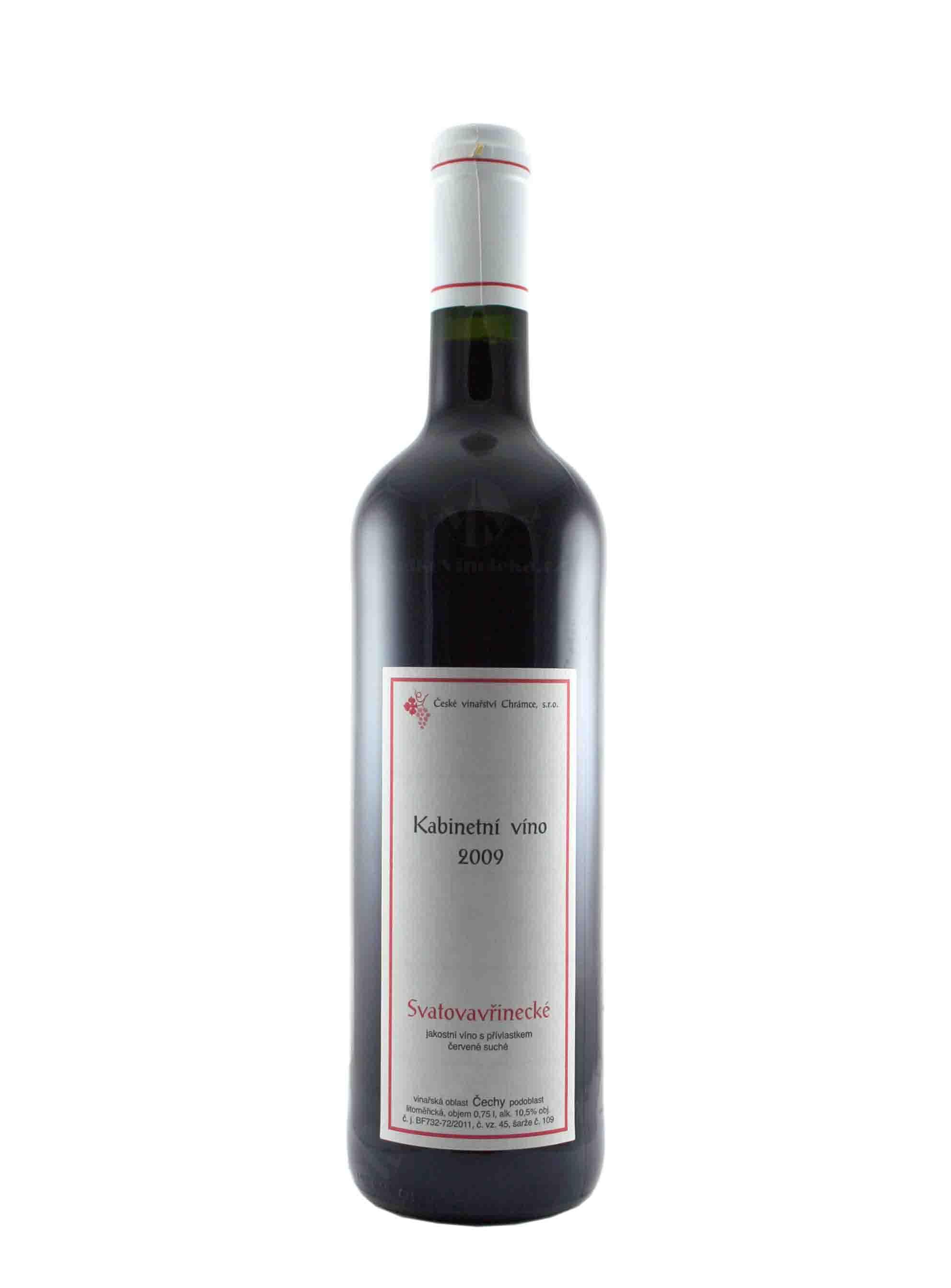 Svatovavřinecké, Kabinet, 2009, České vinařství Chrámce, 0.75 l