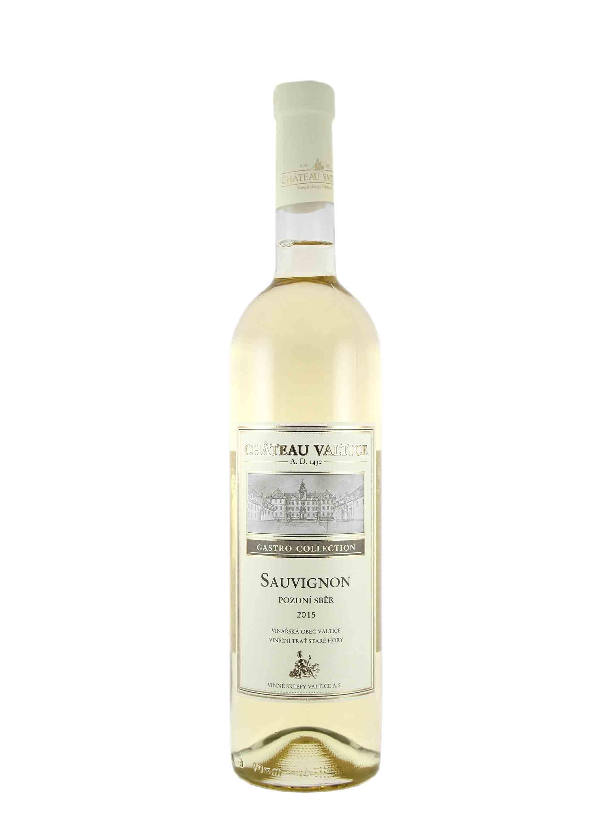 Sauvignon, Gastro Collection, Pozdní sběr, 2015, Château Valtice, 0.75 l