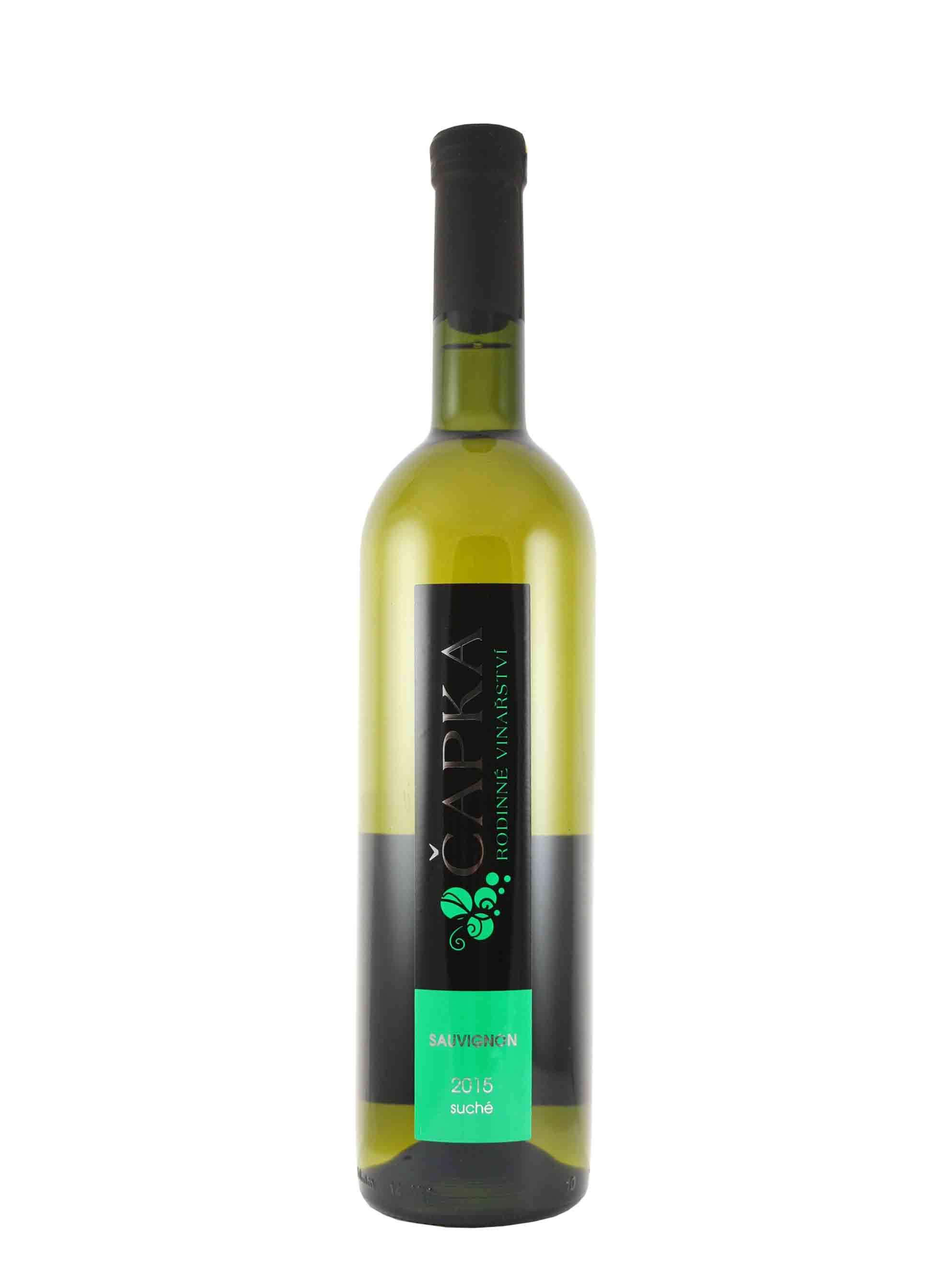 Sauvignon, Pozdní sběr, 2015, Vinařství Čapka, 0.75 l