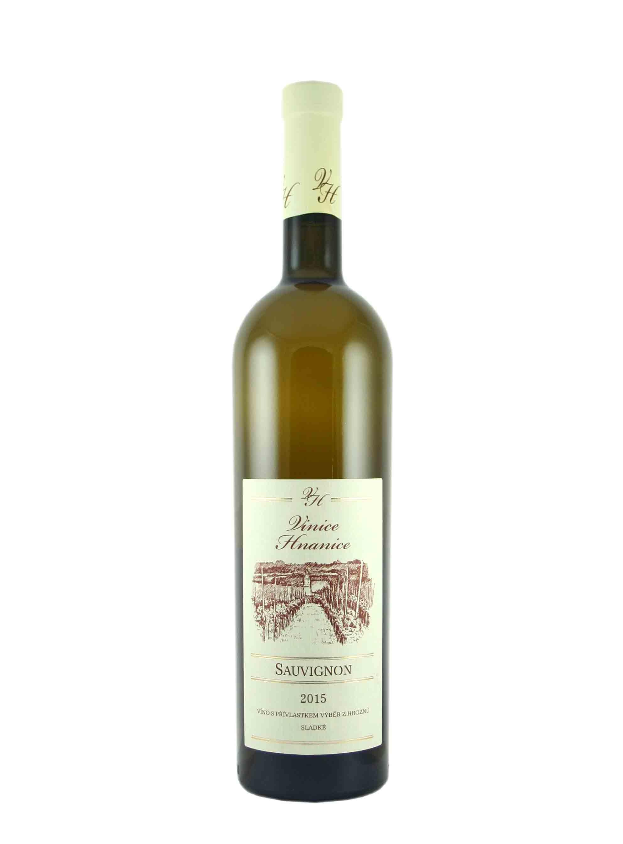 Sauvignon, Výběr z hroznů, 2015, Vinice Hnanice, 0.75 l