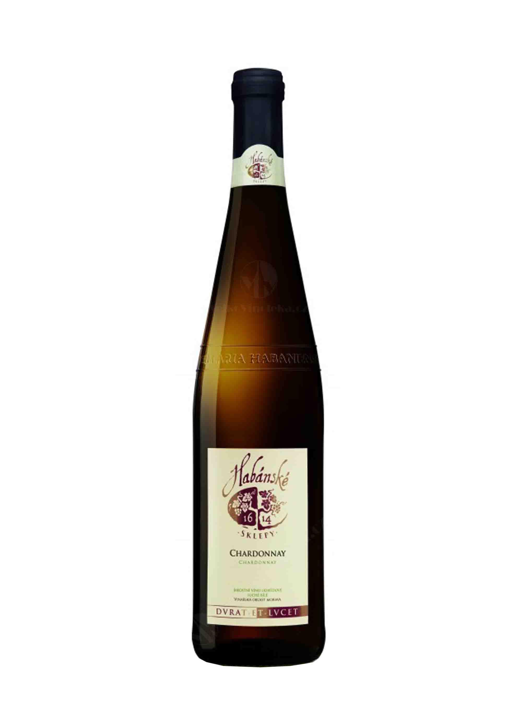 Chardonnay, Jakostní odrůdové, Habánské sklepy, 0.75 l