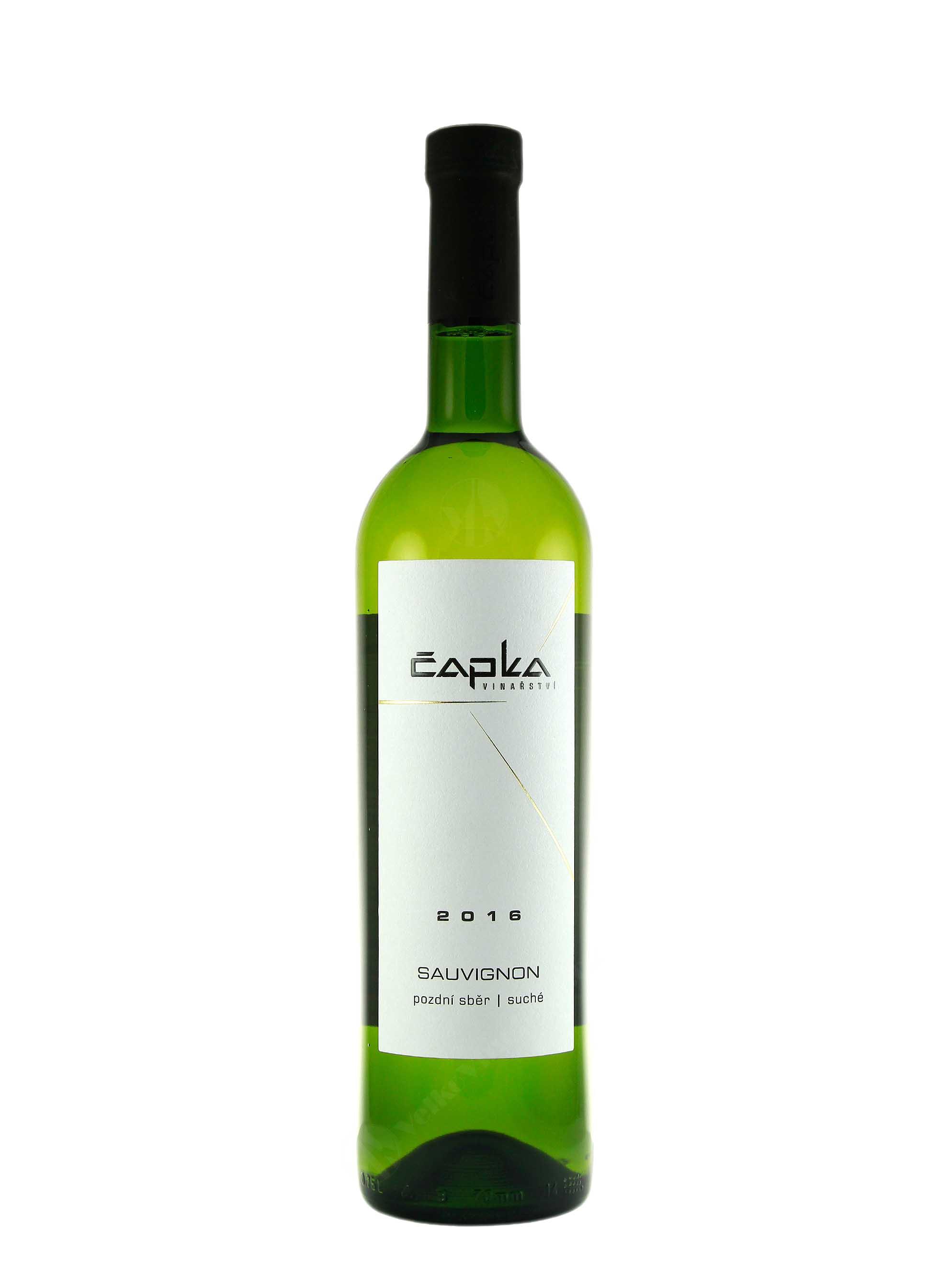 Sauvignon, Pozdní sběr, 2016, Vinařství Čapka, 0.75 l