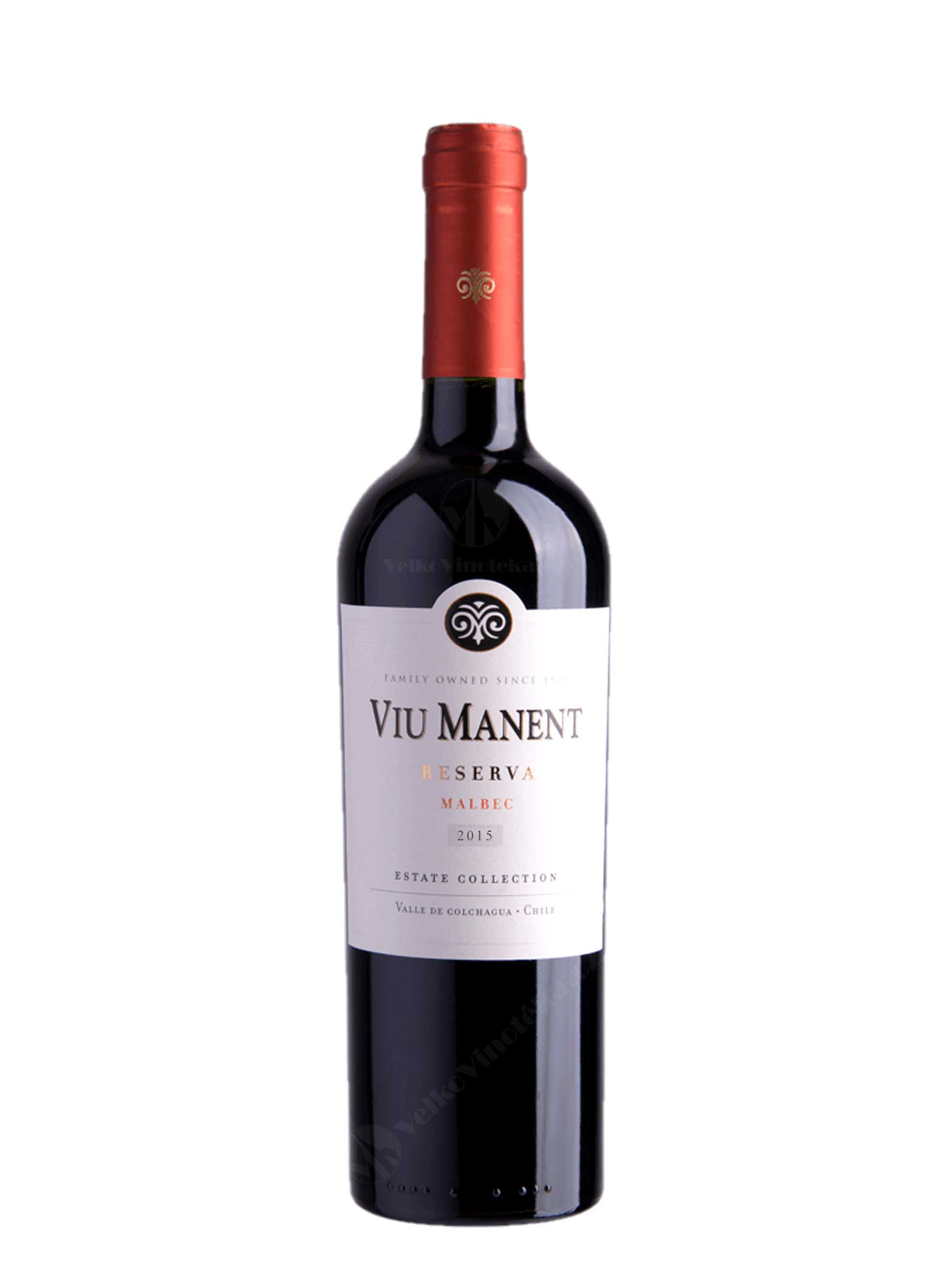 Malbec, Estate Collection, Reserva, 2015, Viu Manent, 0.75 l